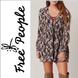 Free People Floral Tunic / Dress NWT